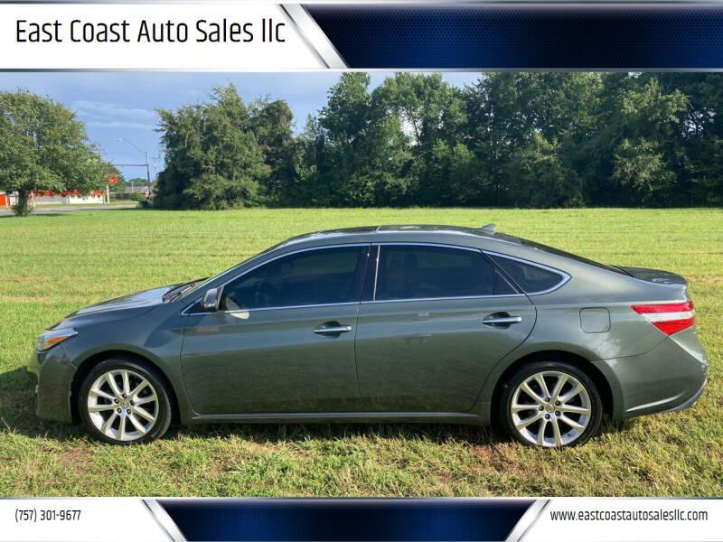 2013 Toyota Avalon for sale at East Coast Auto Sales llc in Virginia Beach VA