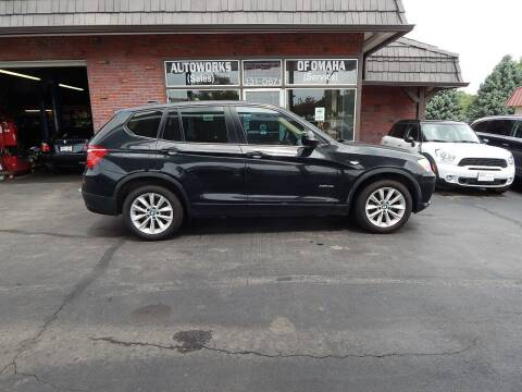 2013 BMW X3 for sale at AUTOWORKS OF OMAHA INC in Omaha NE