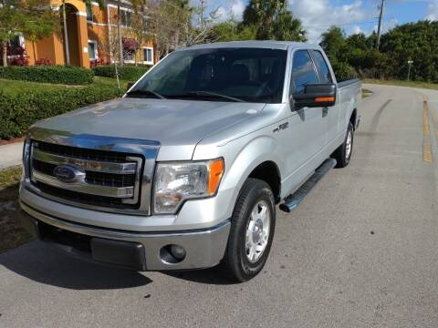 2013 Ford F-150 for sale at LAND & SEA BROKERS INC in Deerfield FL