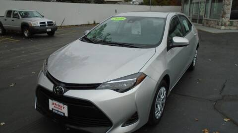 2019 Toyota Corolla for sale at Jeffrey Motors in Kenosha WI