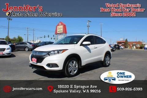 2020 Honda HR-V for sale at Jennifer's Auto Sales in Spokane Valley WA