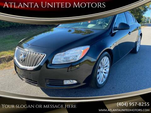 2011 Buick Regal for sale at Atlanta United Motors in Buford GA