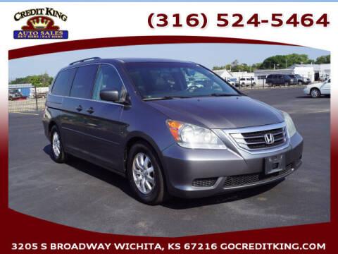 2010 Honda Odyssey for sale at Credit King Auto Sales in Wichita KS