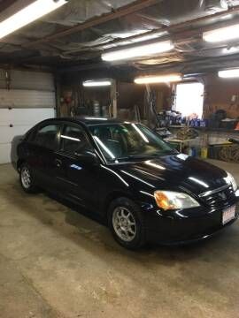 2002 Honda Civic for sale at Lavictoire Auto Sales in West Rutland VT