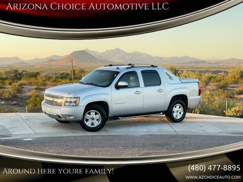 2011 Chevrolet Avalanche for sale at Arizona Choice Automotive LLC in Mesa AZ