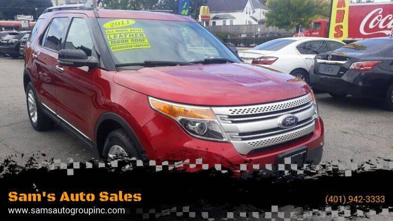 2011 Ford Explorer for sale at Sam's Auto Sales in Cranston RI