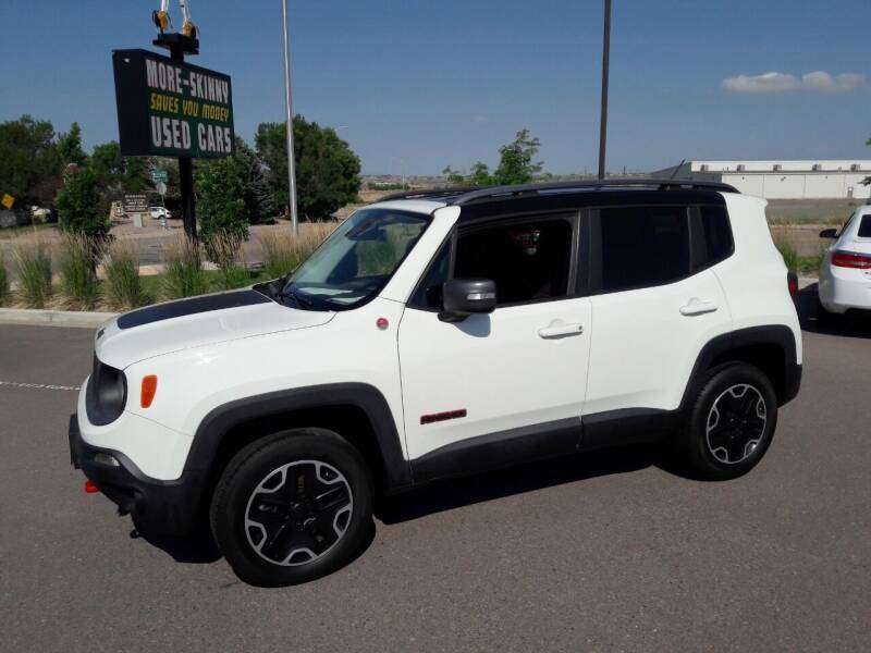 2015 Jeep Renegade for sale at More-Skinny Used Cars in Pueblo CO
