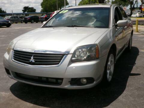 2009 Mitsubishi Galant for sale at FLORIDA USED CARS INC in Fort Myers FL