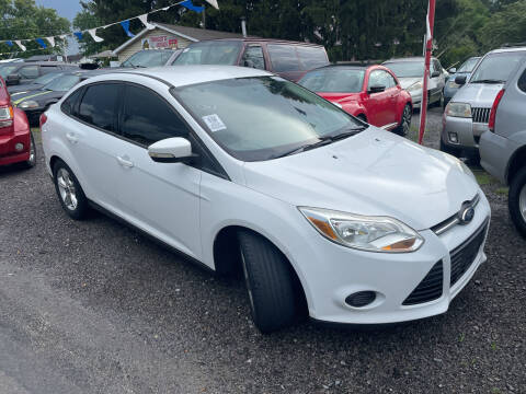 2013 Ford Focus for sale at Trocci's Auto Sales in West Pittsburg PA