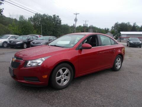 2014 Chevrolet Cruze for sale at Manchester Motorsports in Goffstown NH