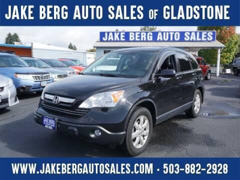2007 Honda CR-V for sale at Jake Berg Auto Sales in Gladstone OR