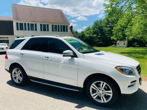 2015 Mercedes-Benz M-Class for sale at 41 Liberty Auto in Kingston MA