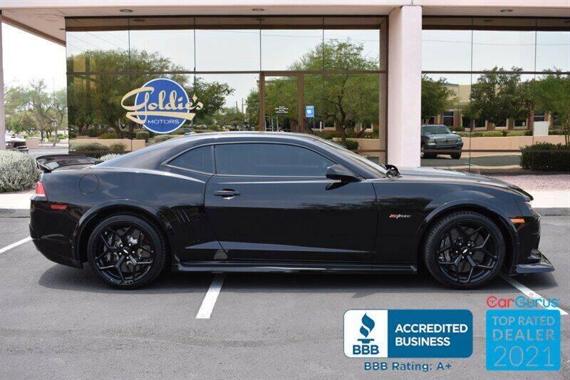 2015 Chevrolet Camaro for sale at GOLDIES MOTORS in Phoenix AZ