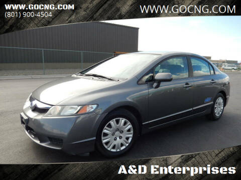 2011 Honda Civic for sale at A&D Enterprises in Spanish Fork UT