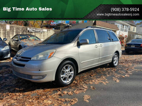 2004 Toyota Sienna for sale at Big Time Auto Sales in Vauxhall NJ