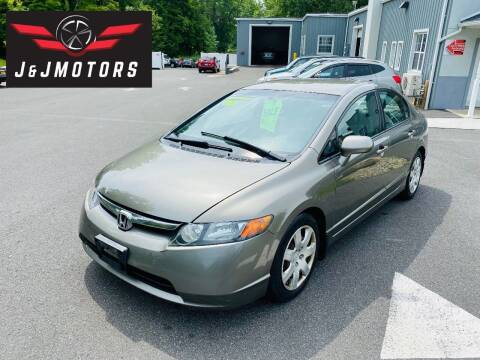 2007 Honda Civic for sale at J & J MOTORS in New Milford CT