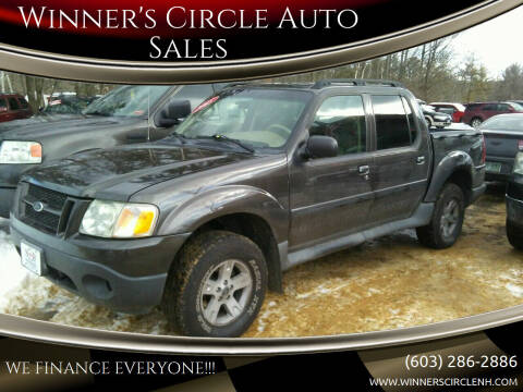 2005 Ford Explorer Sport Trac for sale at Winner's Circle Auto Sales in Tilton NH
