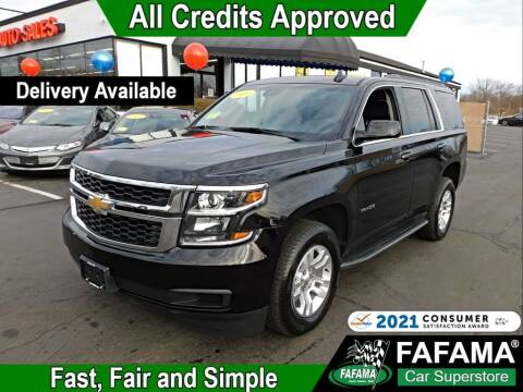 2019 Chevrolet Tahoe for sale at FAFAMA AUTO SALES Inc in Milford MA