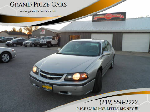 2005 Chevrolet Impala for sale at Grand Prize Cars in Cedar Lake IN
