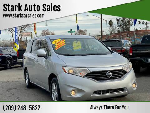 2015 Nissan Quest for sale at Stark Auto Sales in Modesto CA
