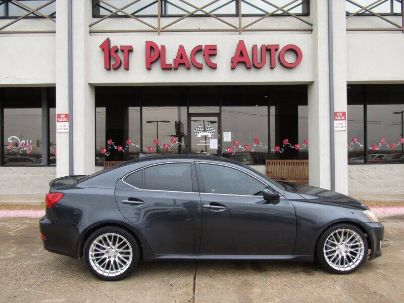 2008 Lexus IS 250 for sale at First Place Auto Ctr Inc in Watauga TX