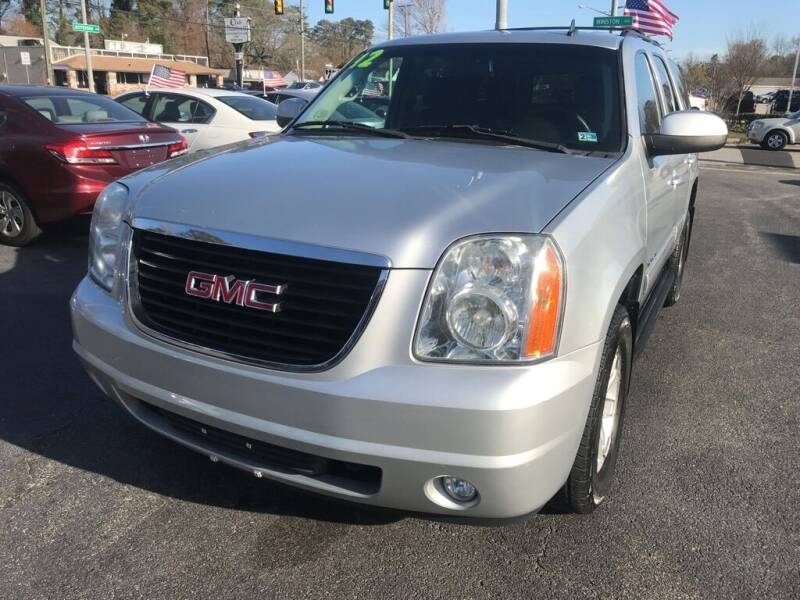 2012 GMC Yukon for sale at Dad's Auto Sales in Newport News VA