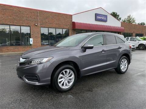 2018 Acura RDX for sale at Impex Auto Sales in Greensboro NC
