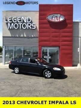 2013 Chevrolet Impala for sale at Legend Motors of Detroit - Legend Motors of Ferndale in Ferndale MI