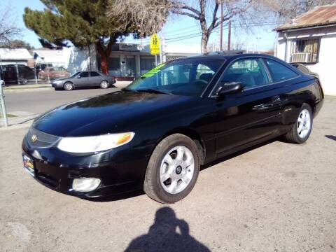2000 Toyota Camry Solara for sale at Larry's Auto Sales Inc. in Fresno CA