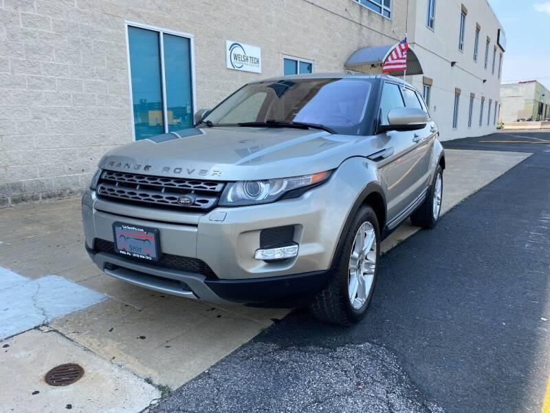 2013 Land Rover Range Rover Evoque for sale at CAR SPOT INC in Philadelphia PA