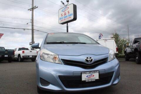 2014 Toyota Yaris for sale at S&S Best Auto Sales LLC in Auburn WA