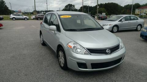 2012 Nissan Versa for sale at Kelly & Kelly Supermarket of Cars in Fayetteville NC