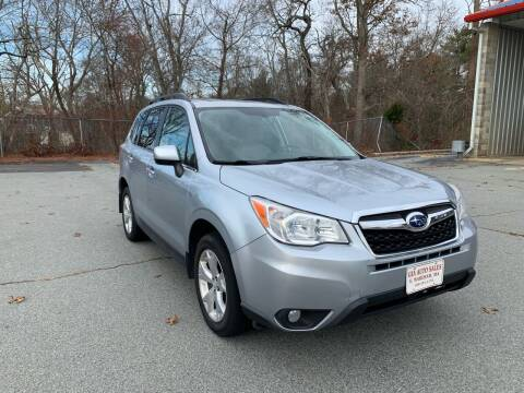 2014 Subaru Forester for sale at Gia Auto Sales in East Wareham MA