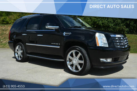 2007 Cadillac Escalade for sale at Direct Auto Sales in Franklin TN