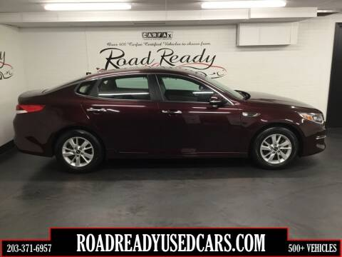 2016 Kia Optima for sale at Road Ready Used Cars in Ansonia CT
