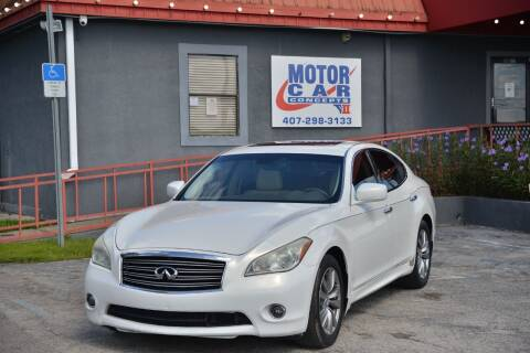 2011 Infiniti M37 for sale at Motor Car Concepts II - Kirkman Location in Orlando FL