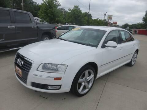 2009 Audi A8 L for sale at Azteca Auto Sales LLC in Des Moines IA