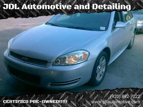 2015 Chevrolet Impala Limited for sale at JDL Automotive and Detailing in Plymouth WI