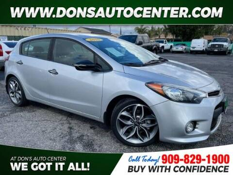 2016 Kia Forte5 for sale at Dons Auto Center in Fontana CA