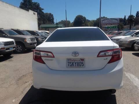 2013 Toyota Camry for sale at Goleta Motors in Goleta CA