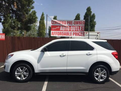 2015 Chevrolet Equinox for sale at Flagstaff Auto Outlet in Flagstaff AZ