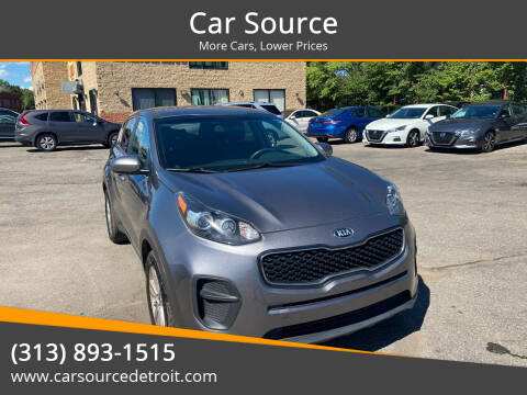 2017 Kia Sportage for sale at Car Source in Detroit MI