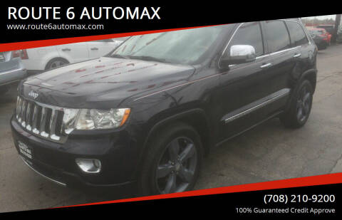 2011 Jeep Grand Cherokee for sale at ROUTE 6 AUTOMAX in Markham IL