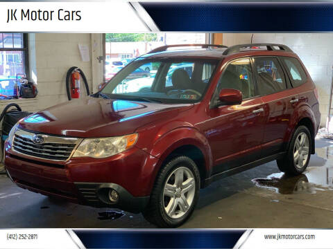 2010 Subaru Forester for sale at JK Motor Cars in Pittsburgh PA