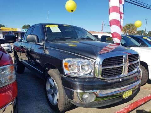 2008 Dodge Ram Pickup 1500 for sale at Abel Motors, Inc. in Conroe TX