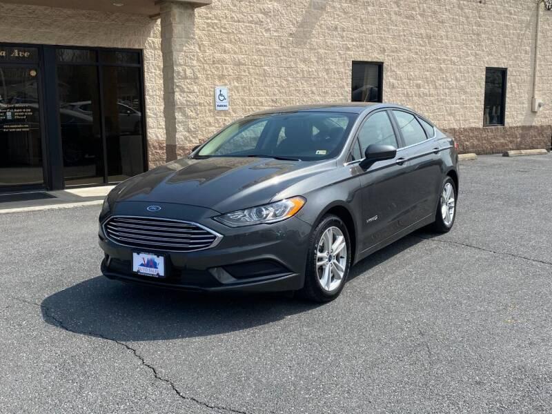 2018 Ford Fusion Hybrid for sale at Va Auto Sales in Harrisonburg VA