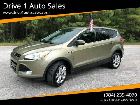 2013 Ford Escape for sale at Drive 1 Auto Sales in Wake Forest NC