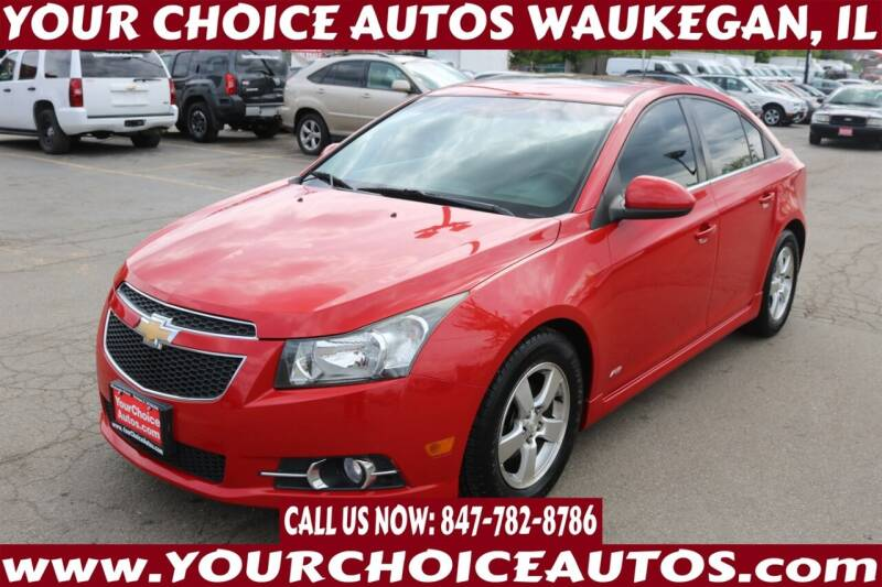 2013 Chevrolet Cruze for sale at Your Choice Autos - Waukegan in Waukegan IL