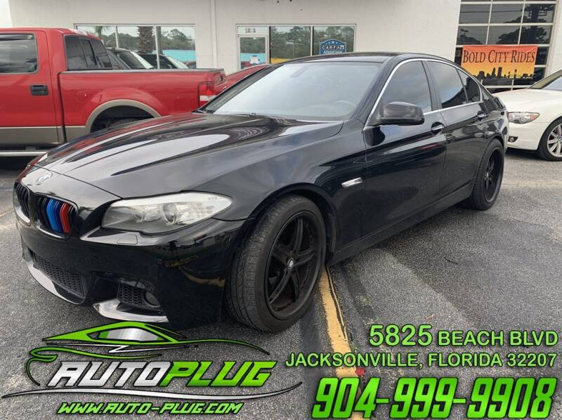 2011 BMW 5 Series for sale at AUTO PLUG in Jacksonville FL