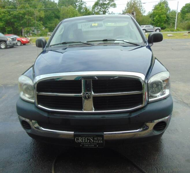 2008 Dodge Ram Pickup 1500 for sale at Greg's Auto Sales in Searsport ME